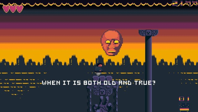 In game screen shot from the released version of the game.